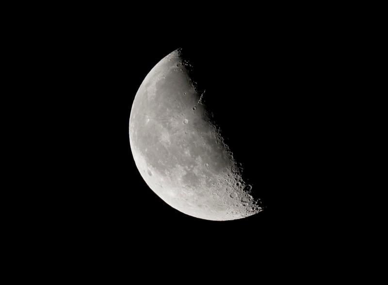 Tuesday Morning Moon