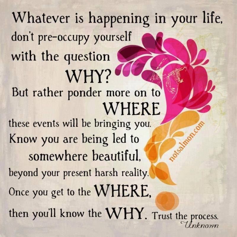 Whatever Is Happening In Your Life