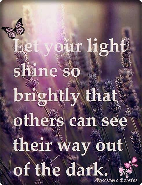 Let Your Light...