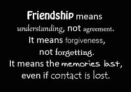 Friendship Means...