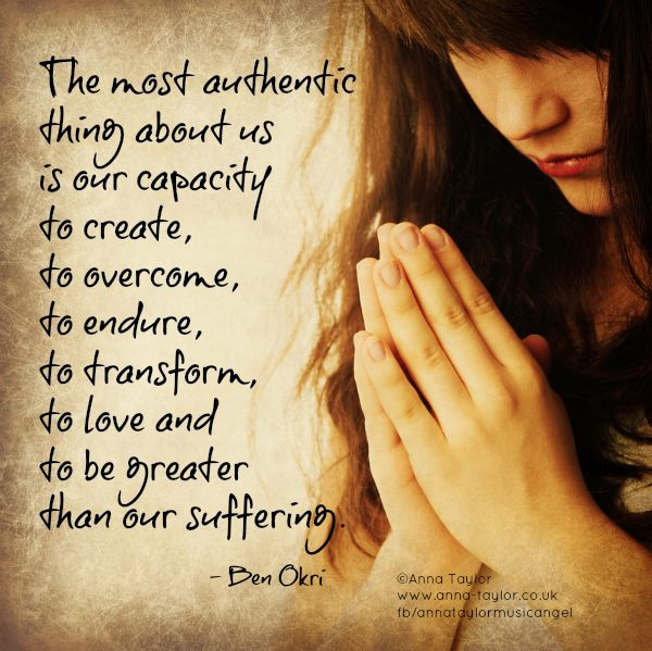The Most Authentic Thing...