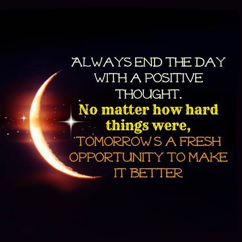 Always End The Day....