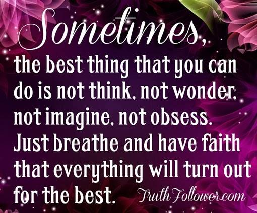 Sometimes The Best...