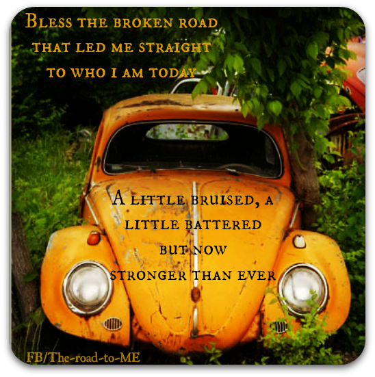 Bless The Broken Road...
