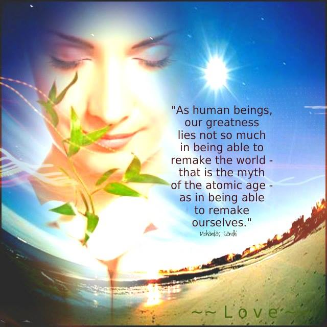 As Human Beings...