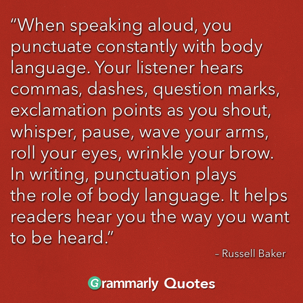 When Speaking Aloud...