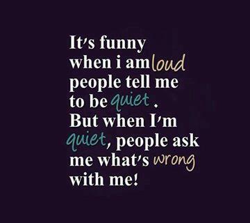 It's Funny...