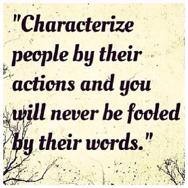 Characterize People...
