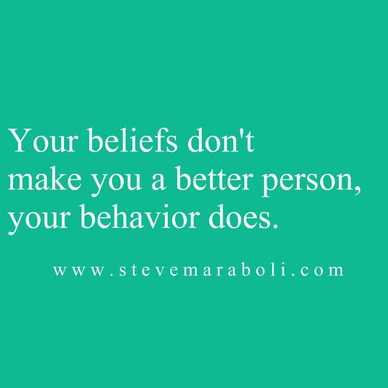 Your Beliefs...
