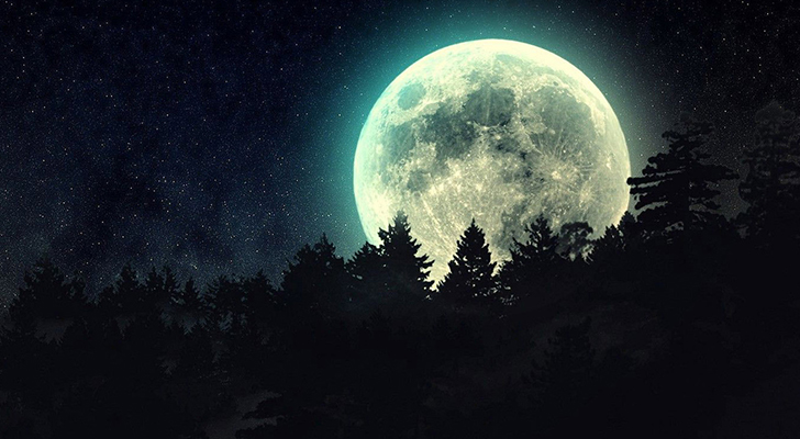 Full Flower Moon In Scorpio   And The Moon Sees All